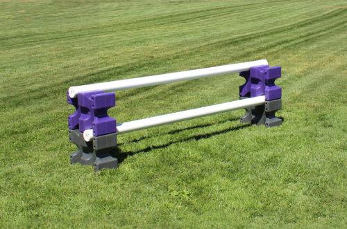 riser max jump blocks 2 pair purple and grey