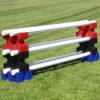 riser max jump blocks 3 pair red, black and blue