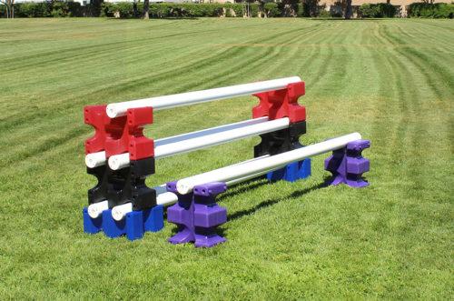 riser max jump blocks 4 pair red, black, blue, and purple